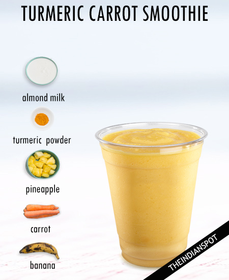 TURMERIC CARROT SMOOTHIE