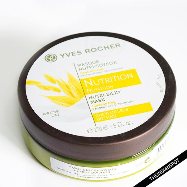 YVES ROCHER NUTRI-SILKY MASK REVIEW