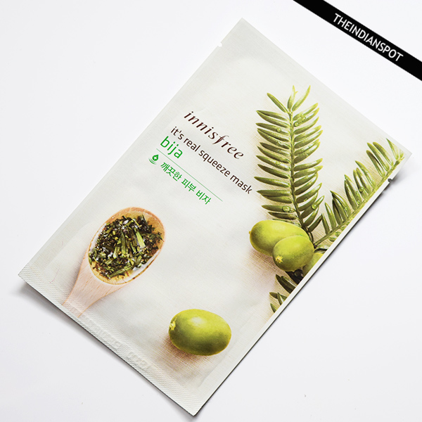 INNISFREE ITS REAL SQUEEZE MASK BIJA REVIEW