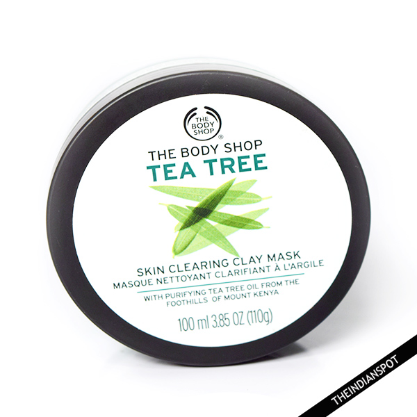 THE BODY SHOP TEA TREE SKIN CLEARING CLAY MASK REVIEW