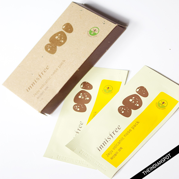INNISFREE JEJU VOLCANIC NOSE PACK REVIEW