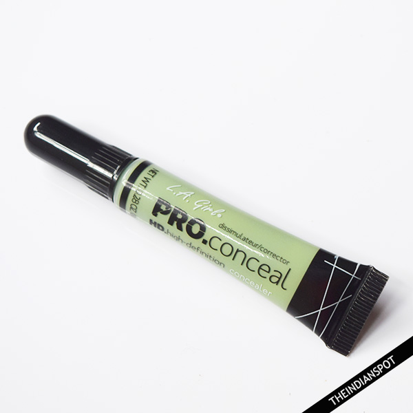 LA GIRL PRO CONCEAL HD CONCEALER- GREEN CORRECTOR REVIEW