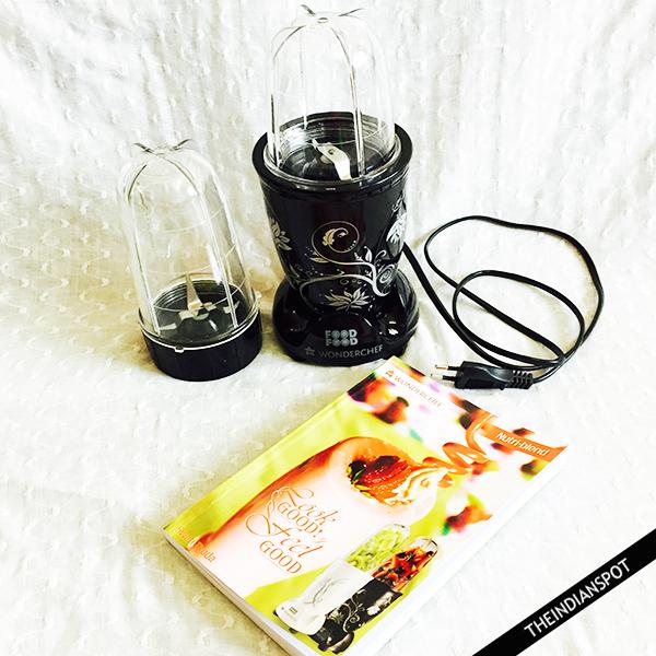 WONDERCHEF NUTRI-BLEND 400W JUICER MIXER GRINDER
