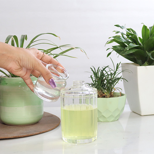Homemade Natural Coconut Oil Shampoo Recipe for Healthy Hair