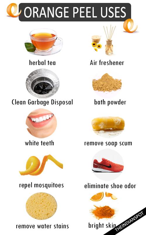 BEST USES FOR ORANGE PEEL