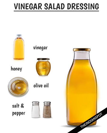 SIMPLE VINEGAR SALAD DRESSING