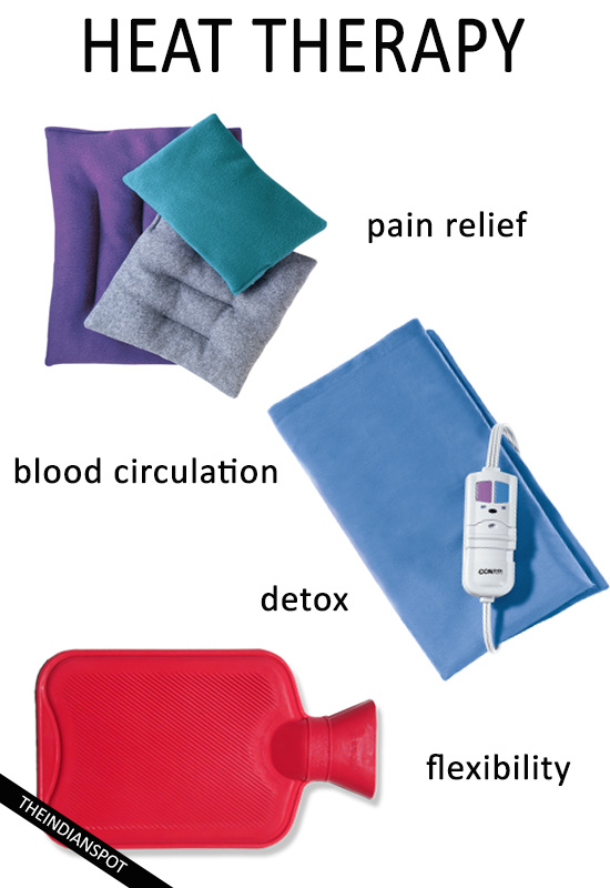 HEAT THERAPY- HOW TO AND BENEFITS