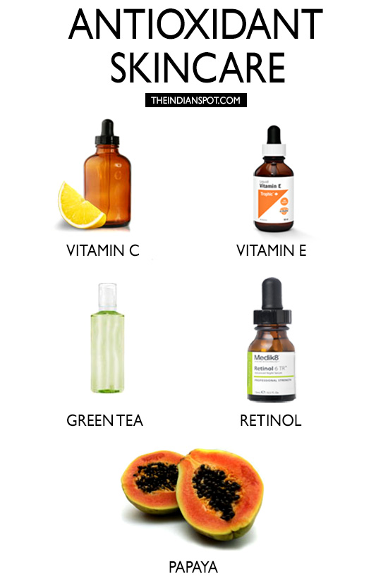 ANTIOXIDANTS TO YOUR SKINCARE ROUTINE