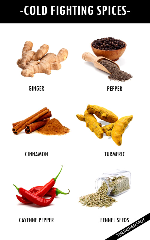 COLD-FIGHTING SPICES