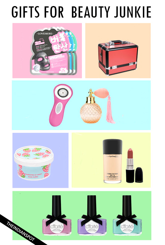 HOLIDAY GIFT IDEAS FOR A BEAUTY JUNKIE