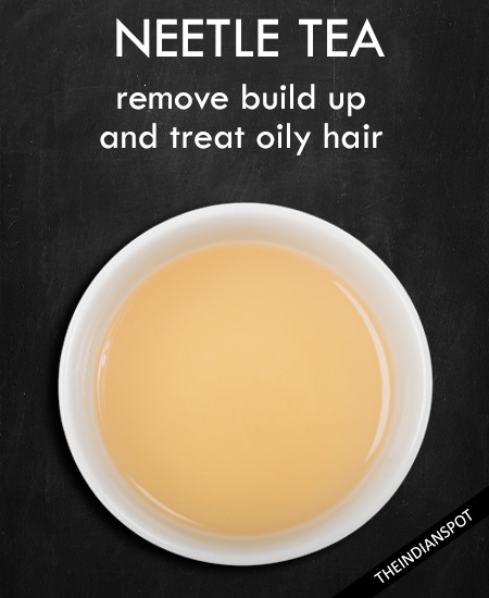 NEETLE TEA – Remove Build Up and treat oily hair