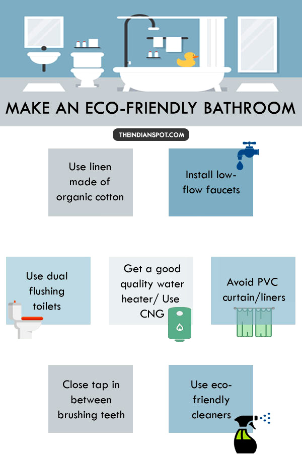 WAYS TO MAKE YOUR BATHROOM MORE ECO FRIENDLY