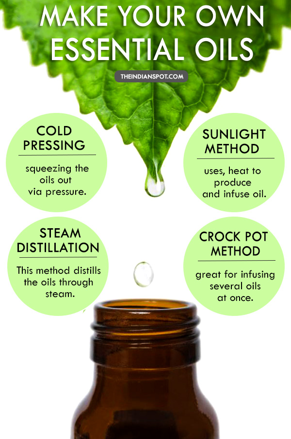 WAYS TO MAKE YOUR OWN ESSENTIAL OILS