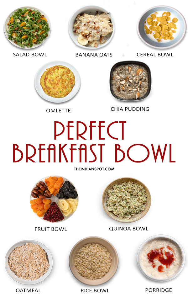 PERFECT BREAKFAST BOWL RECIPES