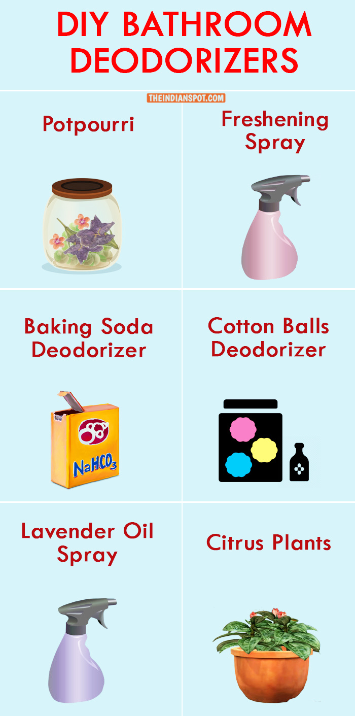 CLEVER & SAFE DIY BATHROOM DEODORIZERS