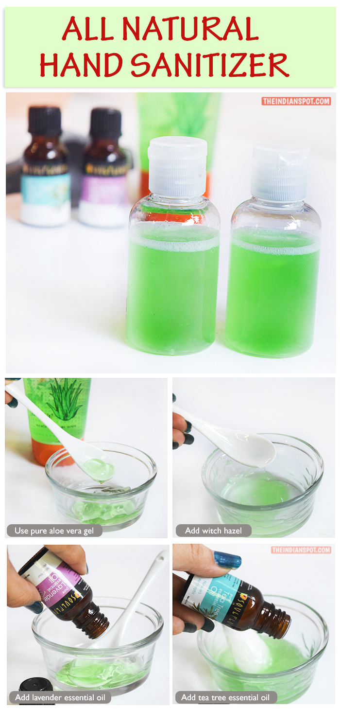 BEAUTY DIY: NATURAL ALCOHOL-FREE HAND SANITIZER
