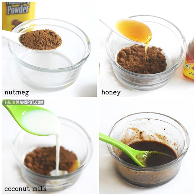 CLEAR ACNE WITH NUTMEG