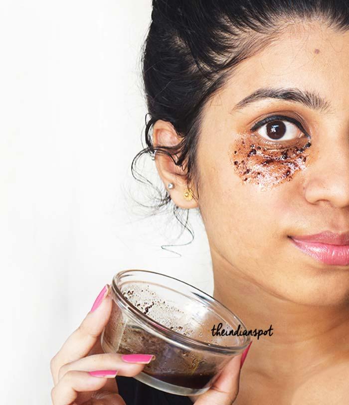 Beauty Diy Coffee Eye Mask To Get Rid Of Dark Circles