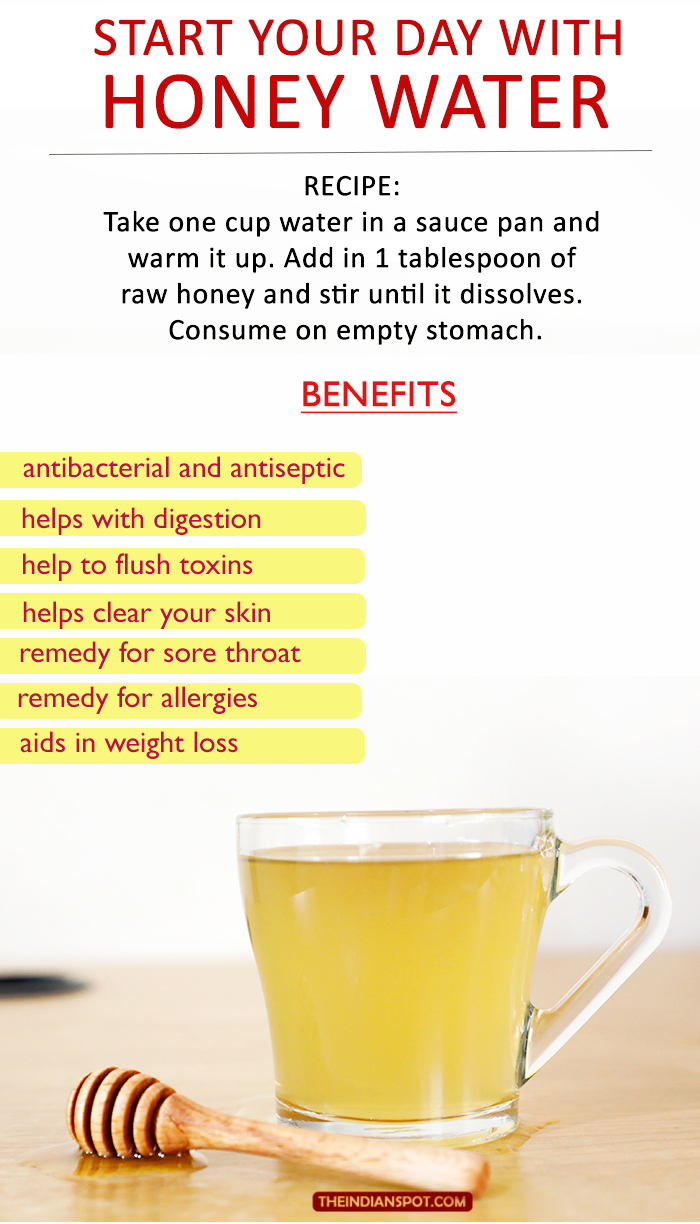 Benefits Of Honey Water For Skin start your day with honey water