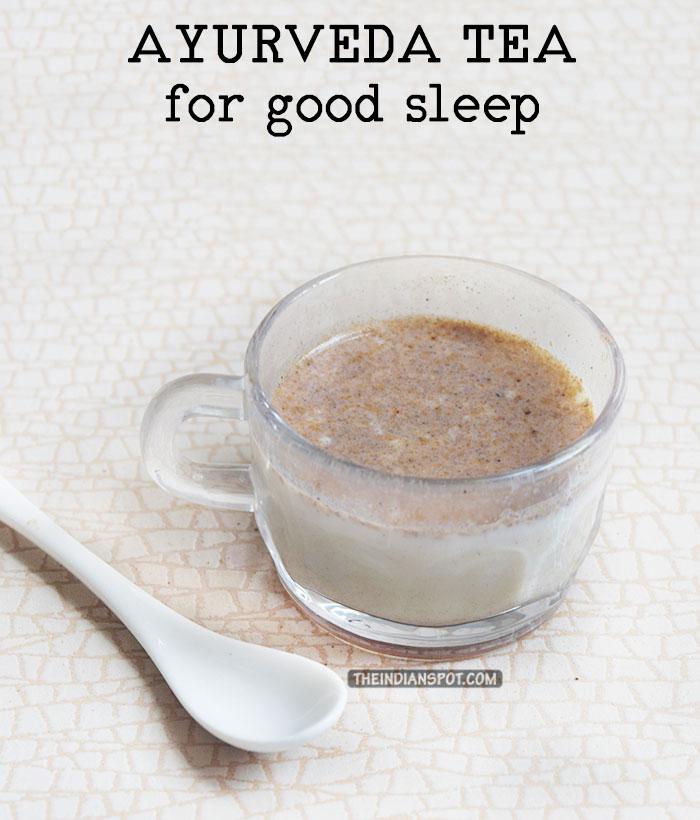AYURVEDA TEA RECIPE FOR GOOD SLEEP