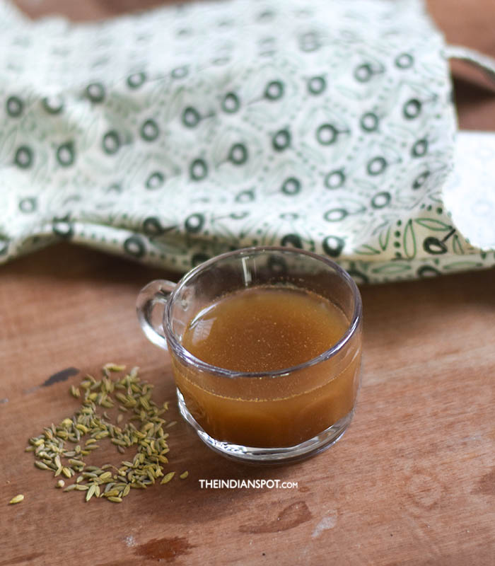 FENNEL TEA FOR BLOATING