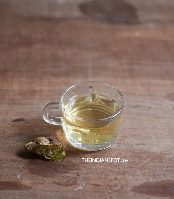 GINGER WATER TO BURN BELLY FAT