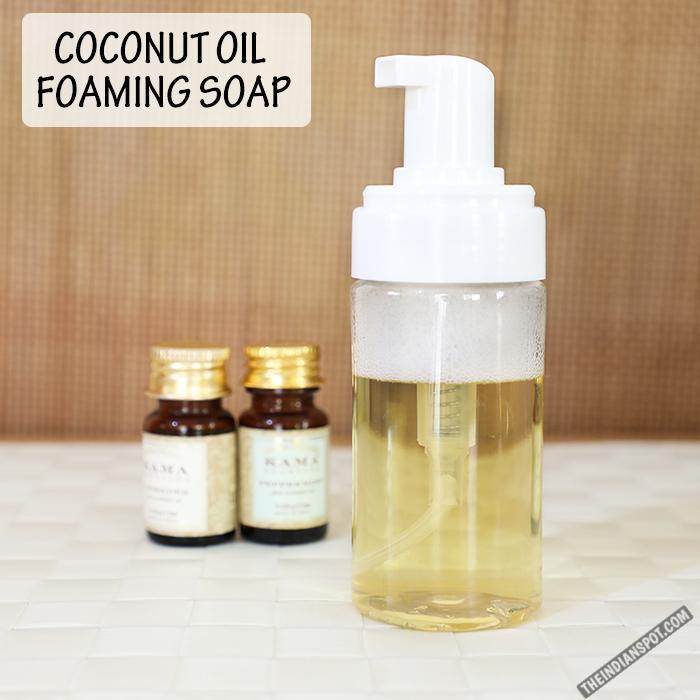 Diy Coconut Oil Foaming Hand Soap