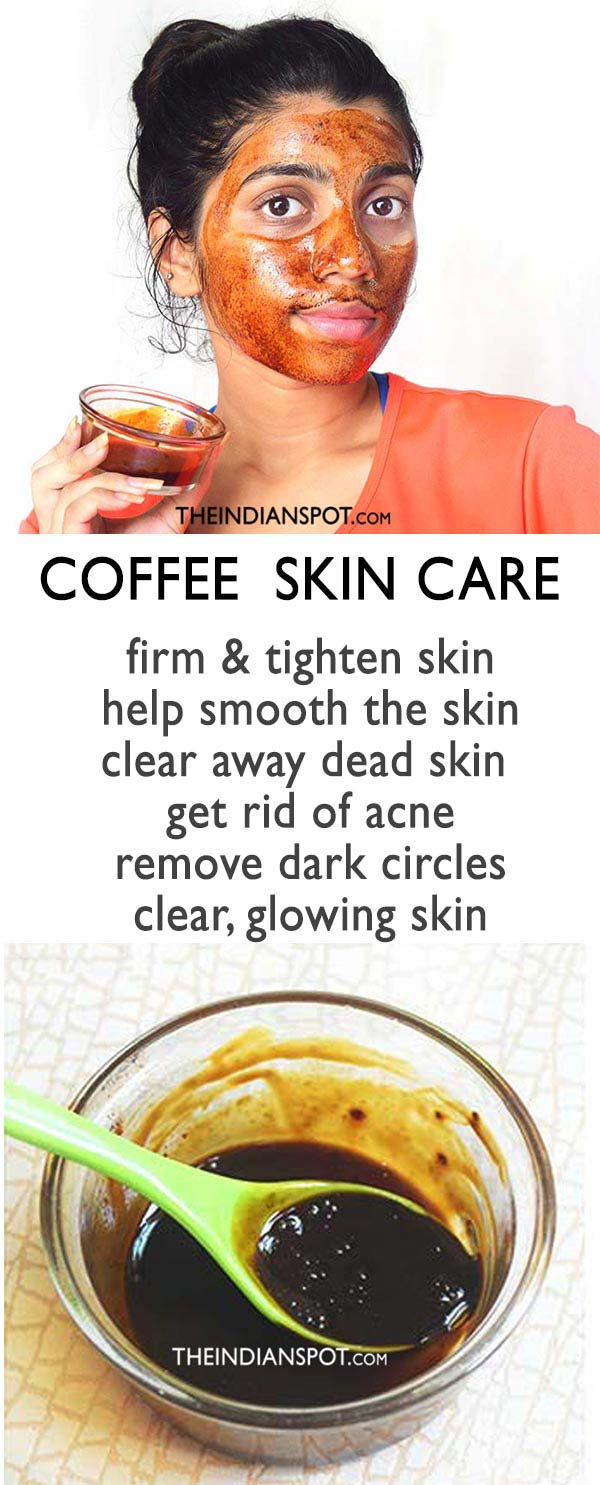 COFFEE FOR FIRM AND GLOWING SKIN