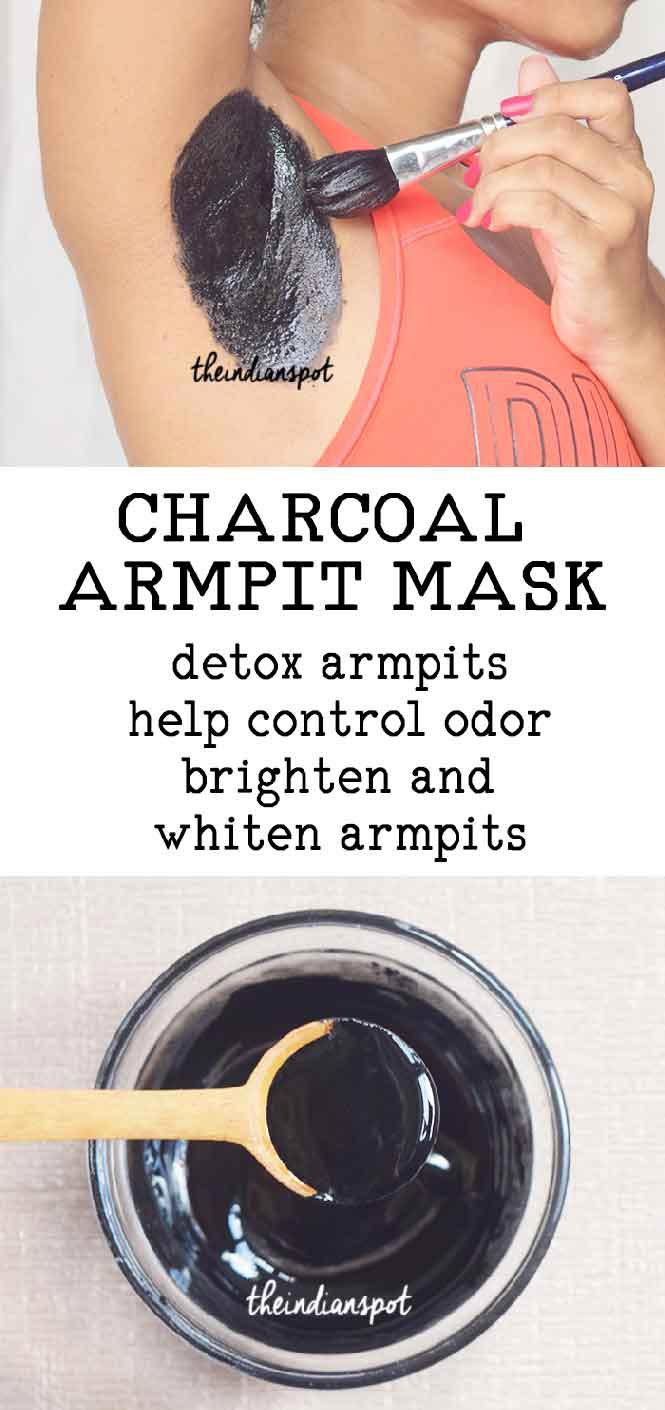 CHARCOAL TO DETOX AND WHITEN ARMPITS