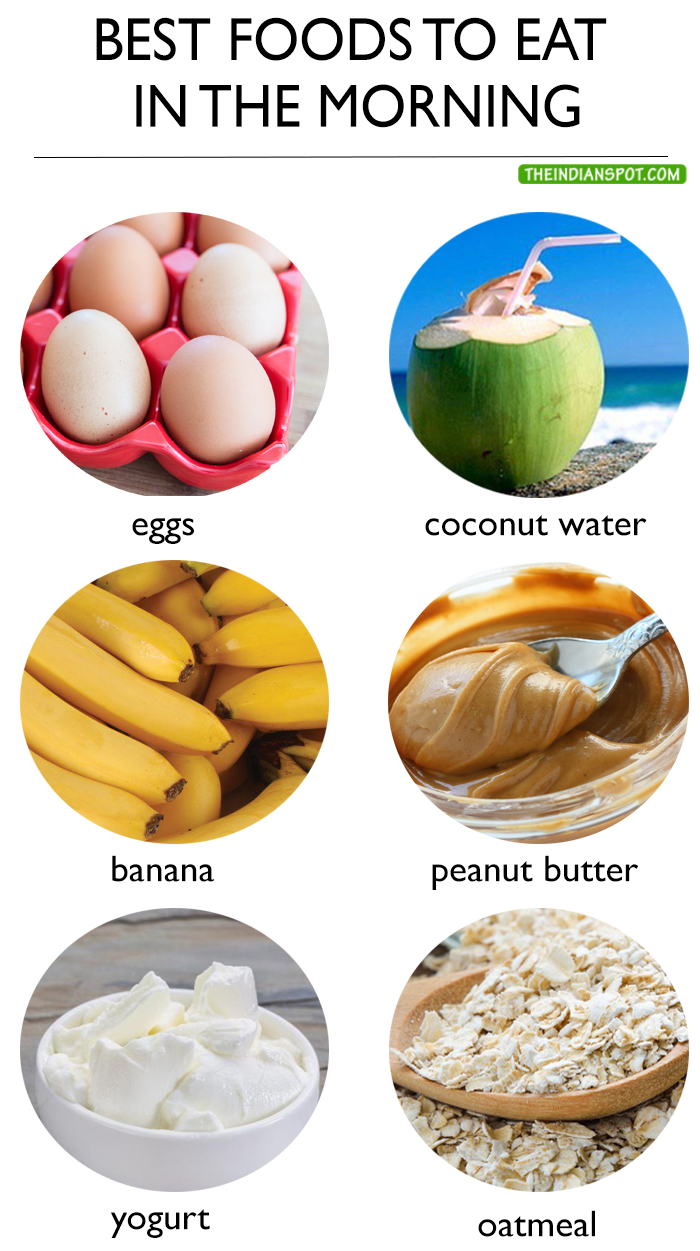 10 BEST FOODS TO EAT IN THE MORNING