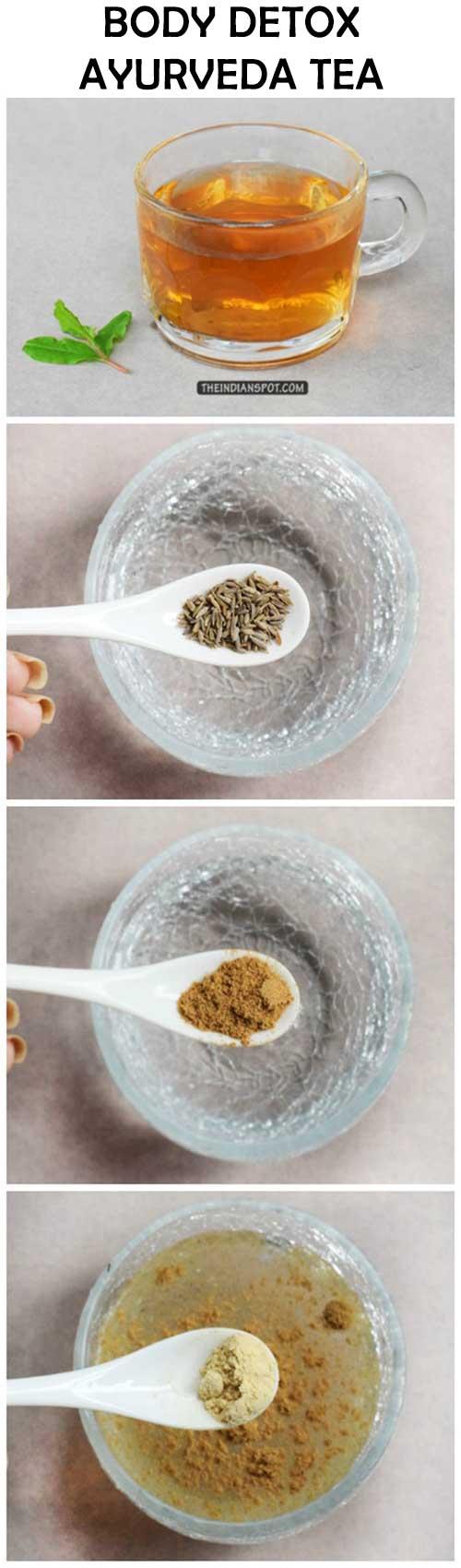 AYURVEDA TEA FOR DETOX