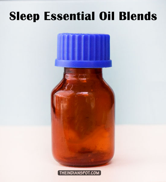 DIY 2- INGREDIENT SLEEP TIME ESSENTIAL OIL BLEND