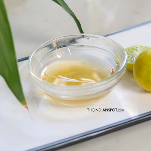 BRIGHTEN SKIN OVERNIGHT USING LEMON