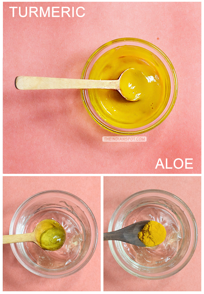 SKIN BRIGHTENING ALOE AND TURMERIC FACE MASK