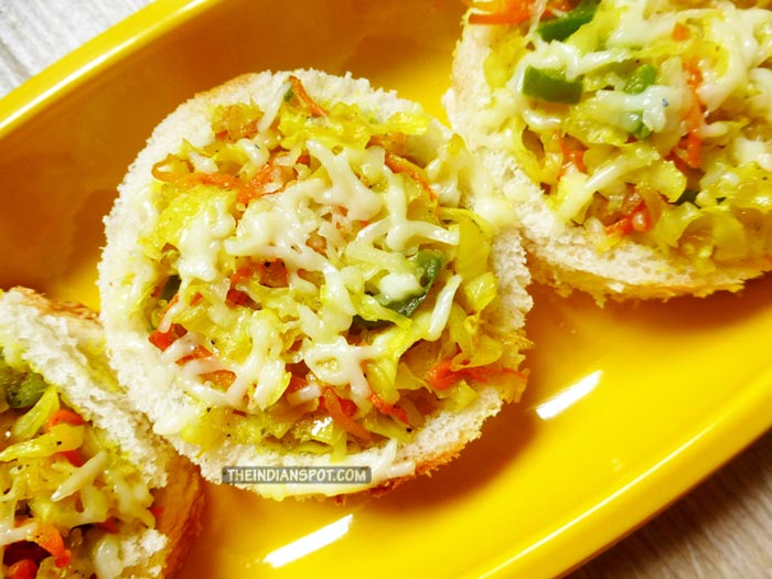 Easy Mixed Vegetable Bread Canapes Recipe