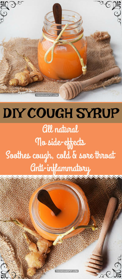 GINGER AND HONEY COUGH SYRUP