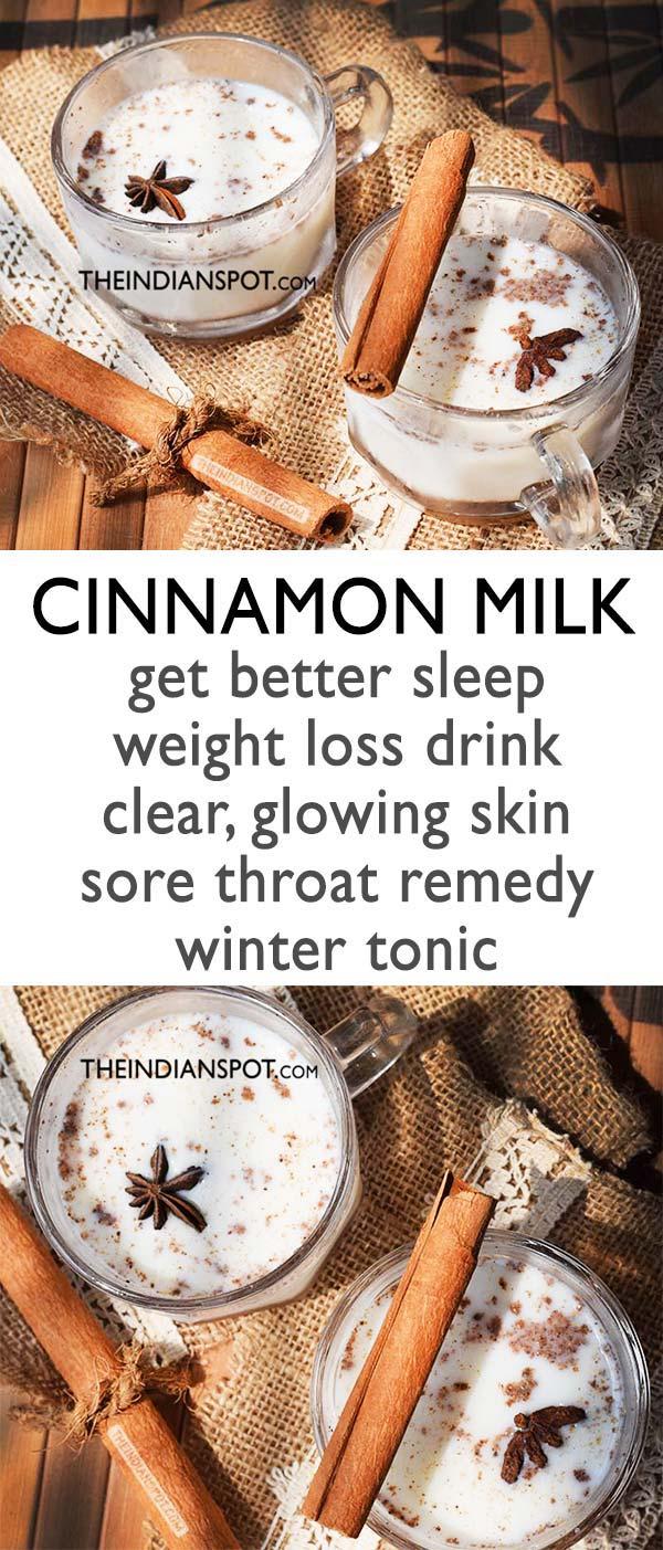 cinnamon milk recipe benefits