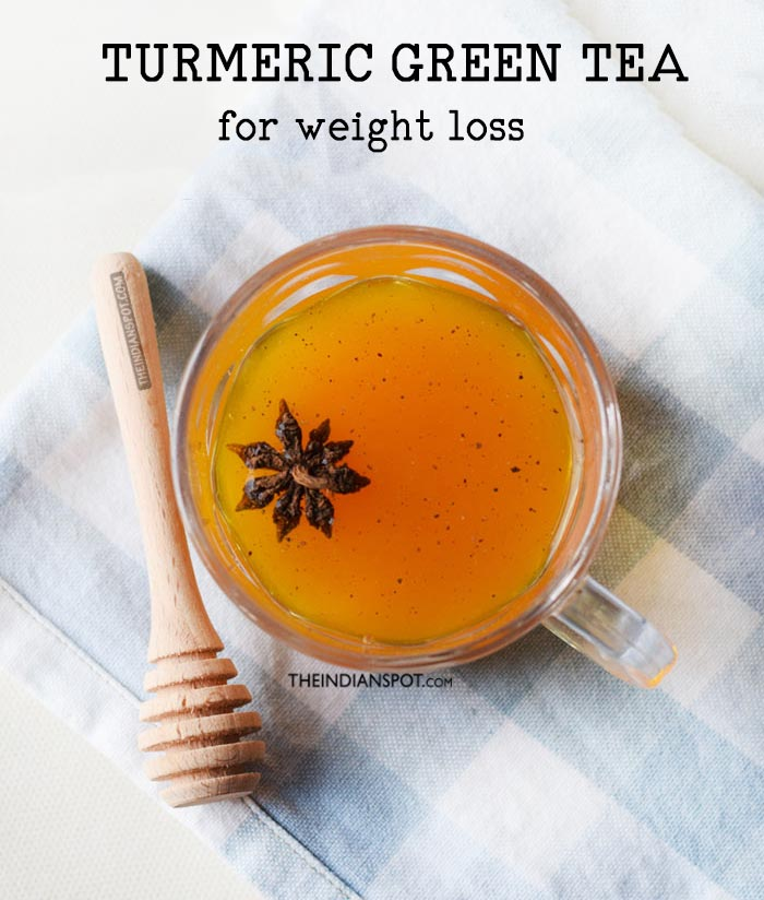 DETOX TURMERIC GREEN TEA for weight loss