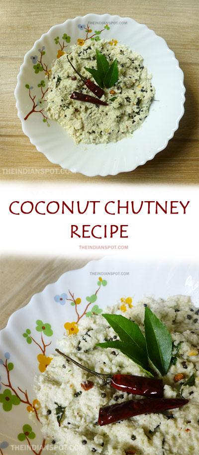 EASY COCONUT CHUTNEY RECIPE