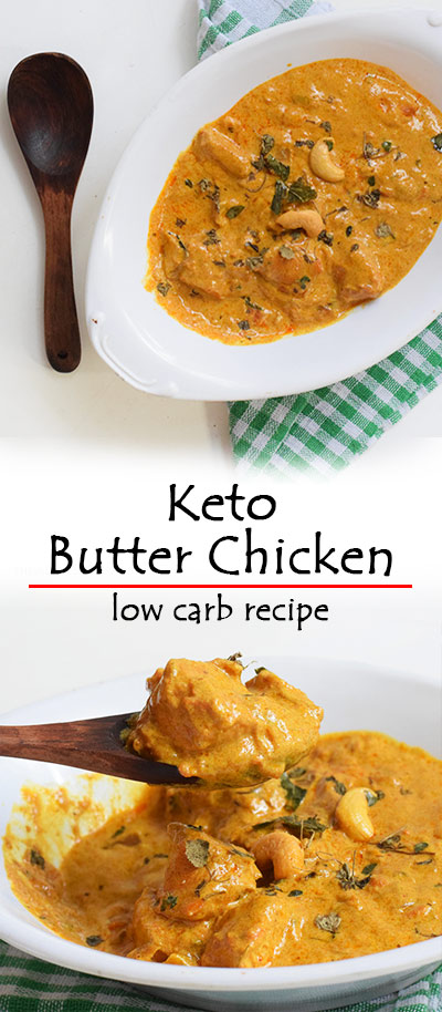 EASY KETO BUTTER CHICKEN RECIPE- STEP WISE