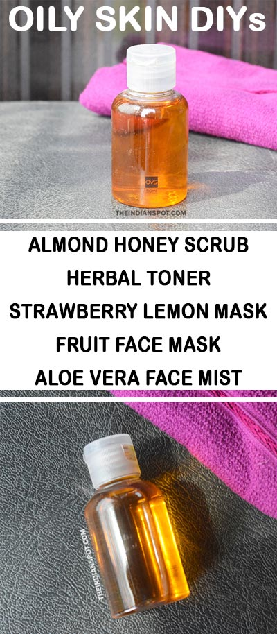 HOMEMADE PRODUCTS FOR OILY SKIN