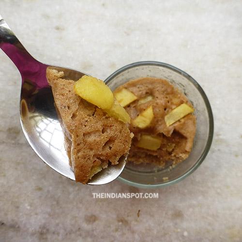 EASY APPLE CINNAMON MUG CAKE RECIPE