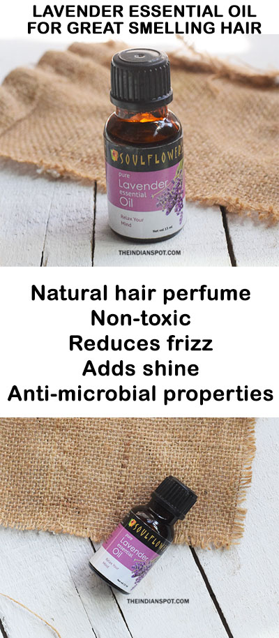 LAVENDER ESSENTIAL OIL TO MAKE HAIR SMELL AMAZING
