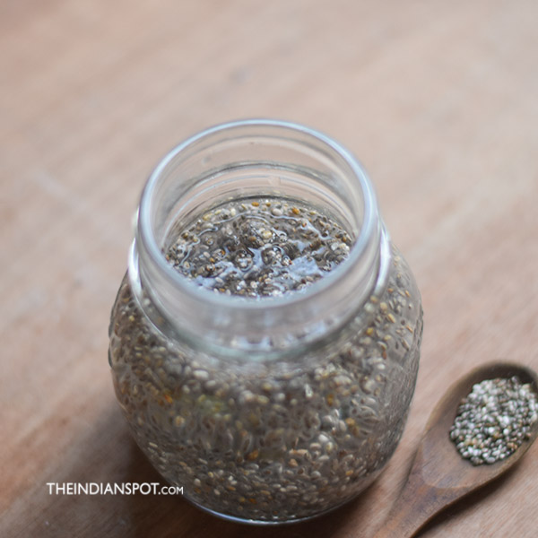 CHIA WATER RECIPE - HEALTHY AND NATURAL ENERGY DRINK
