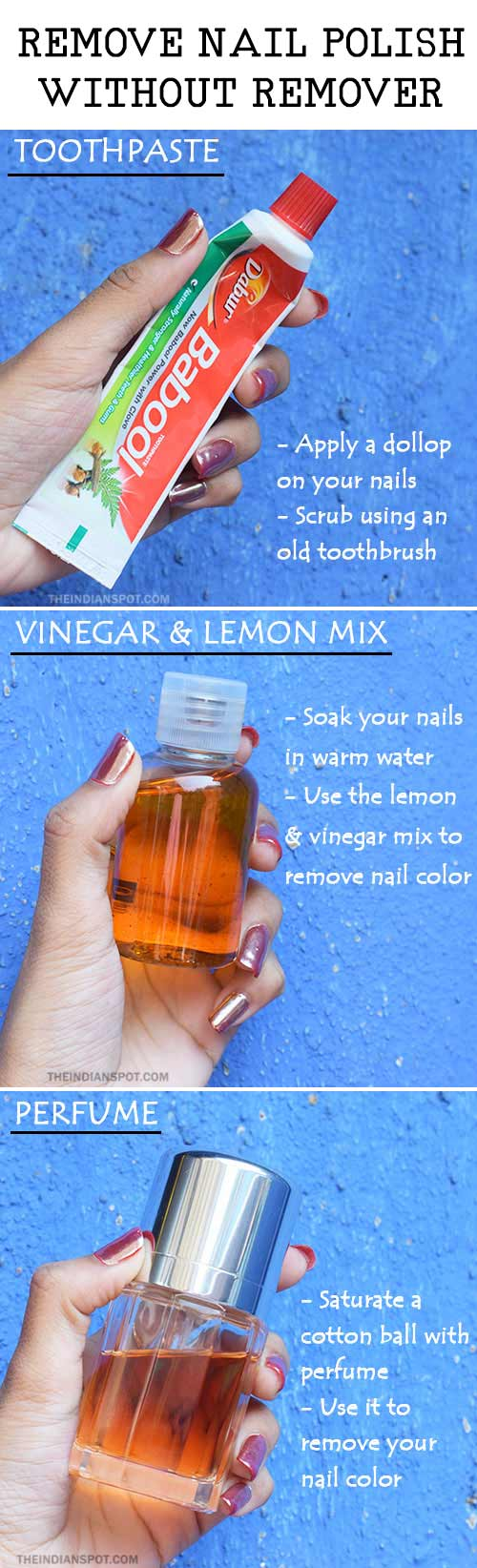 How To Remove Nail Polish From Nails Without Remover Best Nail