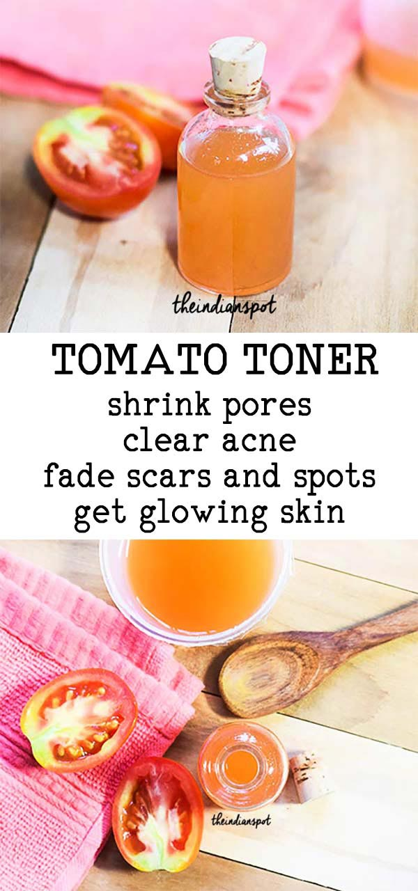 TOMATO TONER TO TIGHTEN AND DEEP CLEAN PORES