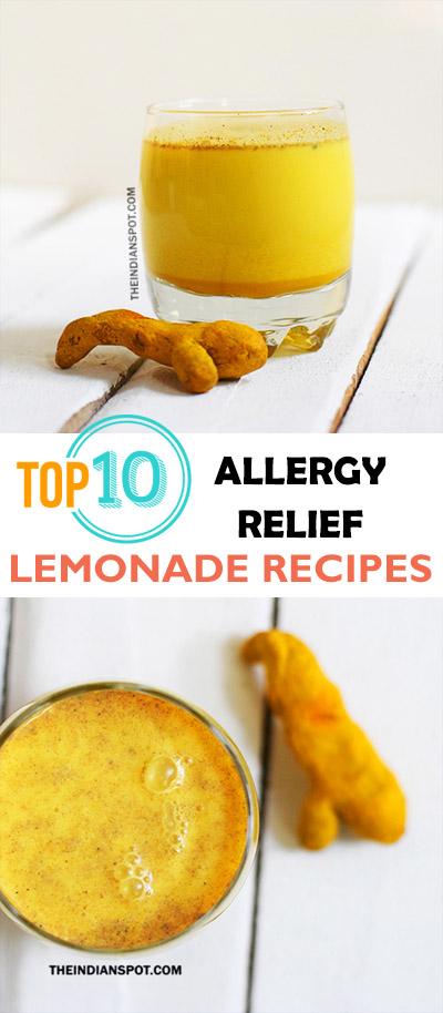 TOP 10 ALLERGY RELIEF LEMONADE RECIPES