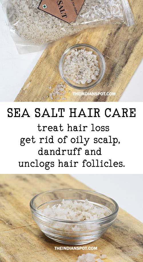 SEA SALT TO STOP HAIR LOSS