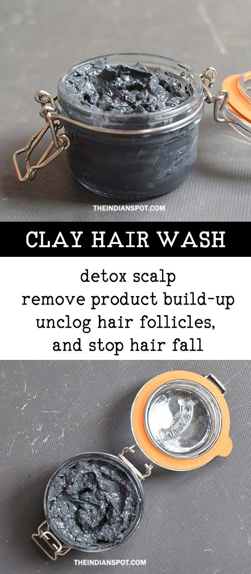 How To Wash Your Hair With Clay