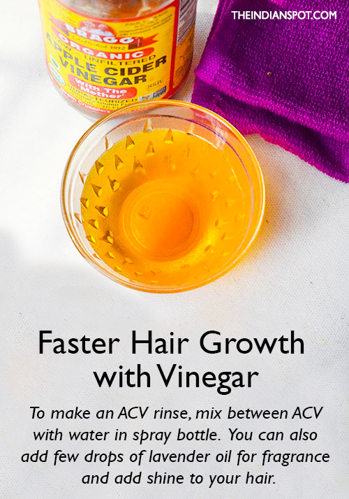 Faster with Vinegar
